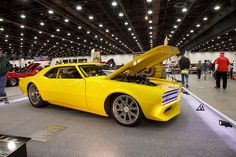 """A big congrats to Bonnell's Rod Shop for winning their class, at last weekend's Detroit Autorama, with their wild """"Impulse"""" Camaro on Grip Equipped Grudge wheels! See more at: http://www.forgeline.com/customer_gallery_view.php?cvk=1537  #Forgeline #GripEquipped #Grudge #notjustanotherprettywheel #madeinUSA #Chevrolet #Chevy #Camaro #Impusle #DetroitAutorama"""