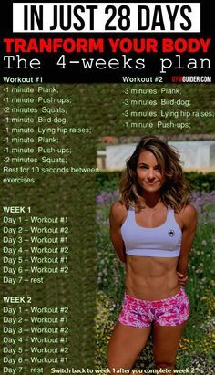 5 Body Weight Exercises That Will Change Your Body In 28 Days - GymGuider.com