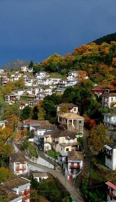 Kastanitsa village, Mountainous Arcadia, Greece Arcadia Greece, Places To See, Places To Travel, Corinth Canal, Santorini Villas, Myconos, Places In Greece, Mountain Village, Greek Islands