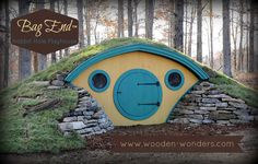 Buy a Unique and Fun Hobbit Hole Playhouse - Hobbit Hole playhouses, chicken coops, doghouses, more!