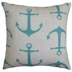 The anchor motif immediately delivers a coastal vibe. | $55
