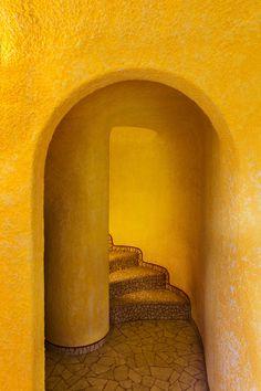 Yellow Architecture by Javier Senosiain