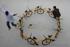 Robert Wechsler bike sculpture
