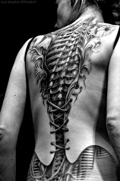 #spine #tattoo