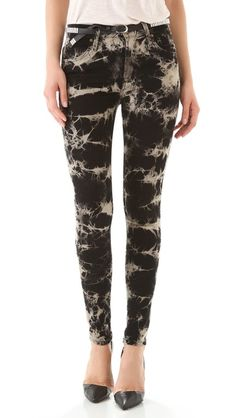 Love this print- James Jeans Twiggy high class skinny jeans