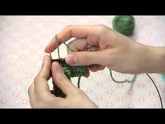How to Knit Faster : Knitting Techniques - YouTube