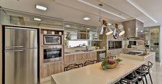 Cozinha gourmet Grande