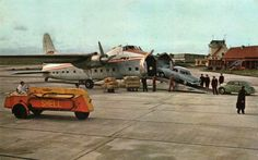 """""""Bristol type 170 Freighter, Studebaker, Renault 4CV"""" posted by Tuuur on Flickr."""