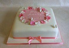 Reading Berkshire, Mothers Day Cake, Celebration Cakes, Toddler Girl, Christening Cakes, Desserts, Food, Christening, Pastries