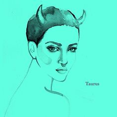 Taurus, steady and ready Taurus Art, Taurus Quotes, Zodiac Taurus, Zodiac Art, Zodiac Signs, Taurus Ascendant, 30 Day Drawing Challenge, Save From Instagram, Sign I
