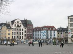 the Aldstadt along the river, Dusseldorf, Germany. Miss it here.
