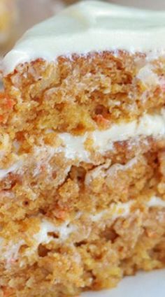 Pumpkin Carrot Cake Recipe ~ a moist flavorful layered cake filled with carrots. - Pumpkin Carrot Cake Recipe ~ a moist flavorful layered cake filled with carrots, pumpkin and warm spices. Pumpkin Carrot Cake Recipe, Pumpkin Dessert, Pumpkin Recipes, Carrot Cakes, Pumpkin Pumpkin, Pumpkin Spice, Fall Desserts, Just Desserts, Delicious Desserts