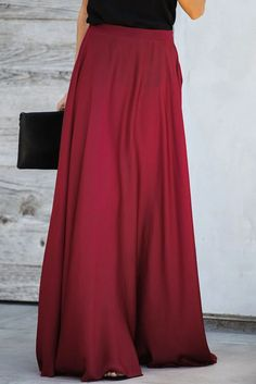 New in Girls's fashion Burgundy Duchess Satin Flowy Maxi Skirt, Store for reasonable Burgundy Duches Winter Skirt Outfit, Skirt Outfits, Dress Skirt, Maxi Dresses, Dress Shoes, Shoes Heels, Herzog, Satin Skirt, Summer Dresses For Women