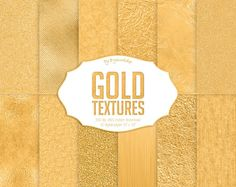 """#Gold #Texture #Digital Paper: """"Gold Textures"""" digital golden background with metallic foil and glitter textures in yellow gold tones  12 digital paper """"""""Gold Textures"""" this i... #etsy #digiworkshop #scrapbooking #illustration #creative #clipart #printables #cardmaking #background #paper #foil #metallic #glitter #golden"""