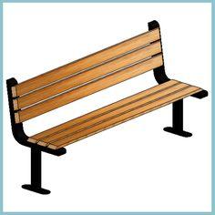 Ferrocast Parkway Seat (Autodesk Revit Architecture 2012 Families) — at urBIM Revit Components.