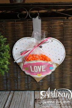 Seasonally Scattered Love Gift Pouch by Jeanna Bohanon