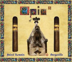 EPIC® CIGARS SHAPE CHRONICLE: ATMOSPHERE OF THE MIDDLE AGES,  EPIC® CIGARS SAINT ROMAIN, THE EPIC GARGOUILLE. EPIC® CIGARS REGISTERED IN DOMINICAN REPUBLIC,THE UNIQUE, AUTHENTIC, ORIGINAL AND LEGITIMATE EPIC® CIGARS BRAND, DR.