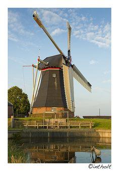 Windmill, Haren (Groningen) The Netherlands