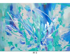 Special Listing for Hensley Large Blue Abstract por Artoosh en Etsy Blue Abstract Painting, Abstract Paintings, Frame Shop, Your Paintings, Etsy, Canvas, Study, Abstract Art, Butterflies