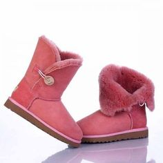 Ugg Bailey Button Boots 5803 Pink