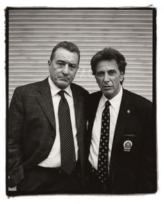 Robert De Niro & Al Pacino by Kevin Cummings and Estevan Oriol