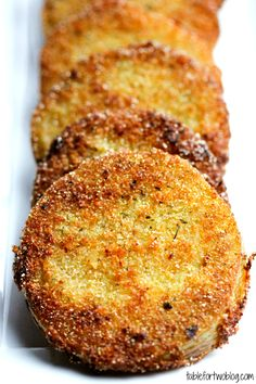 Fried Green Tomatoes >> I have got to try these!
