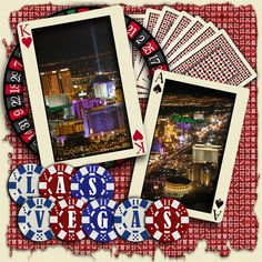 Las Vegas scrapbook page layouts | ... score email this scrapbook uploaded feb 24 2012 viewed 645 times