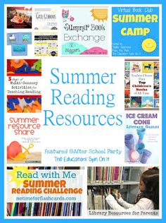 The Educators' Spin On It: Summer Reading {After School Link Up Party}