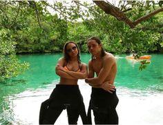 Jasmine Jones and Anthony Ramos