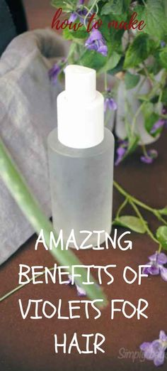 Made of natural moisturizers and packed with antioxidants, this easy to make a violet face and hair natural wash will keep your face and hair smooth and hydrated. Natural Face Wash, All Natural Skin Care, Skin Care Remedies, Natural Remedies, Diy Beauty Tutorials, Diy Natural Beauty Recipes, Toner For Face, Natural Moisturizer, Natural Parenting