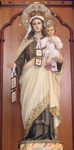 Militia Immaculatae | Rycerstwo Niepokalanej Tradycyjnej Obserwancji | 16 lipca — Najświętszej Maryi Panny z Góry Karmelu