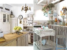 Image detail for -Ideas For Creating Shabby Chic Kitchen Design | InteriorHolic.com