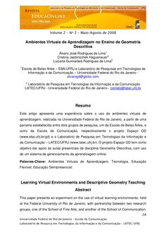 ambientes-virtuais-de-aprendizagem-no-ensino-de-geometria-descritiva by Luciana Lima via Slideshare