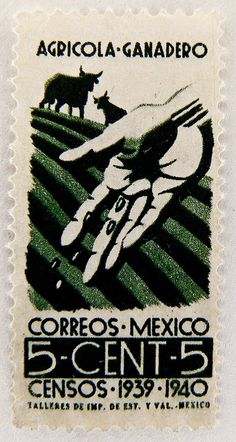 stamp Mexico