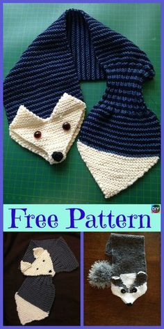 5 süßeste Knitting Fox Scarf Free Patterns - Strickmuster The Effective Pictures We Offer You About Knitting Pattern flowers A quality picture can tell you many thing Fox Scarf, Baby Scarf, Hand Knit Scarf, Baby Knitting Patterns, Free Knitting, Crochet Patterns, Scarf Patterns, Crochet Ideas, Crochet Fox