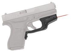 Crimson Trace LG443 Laserguard For Glock Slimline Red Laser Glock 42 Trigger Guard