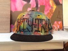 City trends hand painted hat from #streetcraftLA