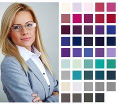 cool+summer+season+wardrobe | Shop Work Wear by Seasonal Colour Palette At Pinstripe ...