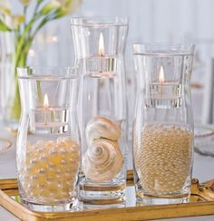 Vases Filled With Pearls
