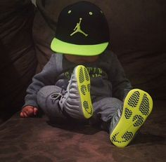 Baby boy outfit Foamposite
