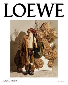Loewe F/W 16/17 Campaign by Steven Meisel | The Fashionography