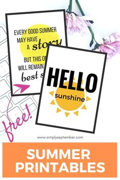 summer printables, hello sunshine, watermelon, hello sunshine, summer, every good summer may have a story, summer story, free printables, free printable, summer printables, summer printable, free summer printable, summer wall decor, summer art, summer printables, sunshine, sun, summer story, best seller Amazing Crafts, Fun Crafts, Crafts For Kids, Free Summer, Summer Art, Summer Story, Hello Sunshine, Happy Planner, Creative Inspiration