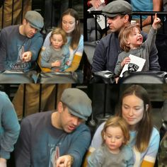 #OliviaWilde with #JasonSudeikis (and their son Otis) stopped to watch the Brooklyn Nets game last night! • • • • • • • • • • • • • • • • • • • • • • • • • • • • • • #OliviaWilde com #JasonSudeikis (e Otis, filho deles) pararam para asssistir ao jogo do Brooklyn Nets ontem à noite!