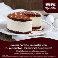 Comparte con nosotros tu ideas y disfruta de Hershey's® Repostería. #Hersheys #Chocolate #InspiraSonrisas #Repostería #Postres #Receta #Recetario #Delicioso