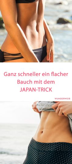 Belly fat off with Japan trick- Bauchfett weg mit Japan-Trick abdominal exercise - Fitness Workouts, Yoga Fitness, Fitness Motivation, Tips Fitness, Health Fitness, Energy Fitness, Butt Workout, Sport Fitness, Exercise Motivation