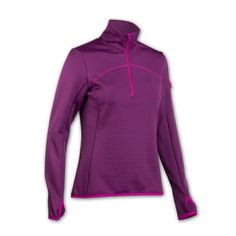 #ORTOVOX MERINO (MI) Fleece 1/4 zip neck top with thumb loops and bonded pocket is pure functionality meets natural climate control. The mixture of #Merino on the inside (MI) and polyester on the outside results in unbelievable stretch, warmth and fantastic breathability.  Outer layer: 69% Polyester, 4% Elastane, Inner: 27% Merino http://www.merinooutlet.com/women/tops/httpwww-merinooutlet-comadminpageseditshow181/?colour=25 #merinowool