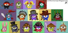 Crossy Sky Guriko Characters by Valaquia.deviantart.com on @DeviantArt