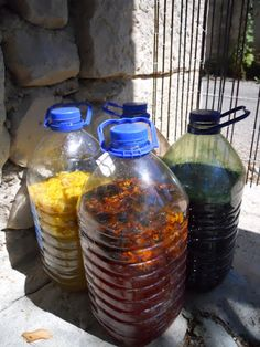tools for herbal dye fermentation