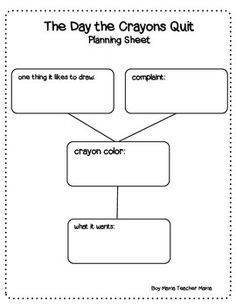 The day the crayons quit activity printable on peacelovelearning after reading the day the crayons quit student can plan and write a letter like those in the book spiritdancerdesigns Gallery