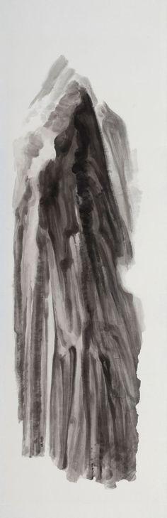 Xu Longsen, Li, 2011; Ink on Chinese paper, 250x80cm